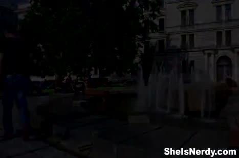 Русская блондинка делает минет и стонет от секса