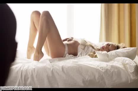 Романтическое русское порно с миловидной блондинкой