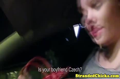 Любительское порно на улице с развратной блондинкой
