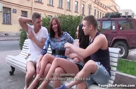 Дружные русские студенты расширили границы дозволеного